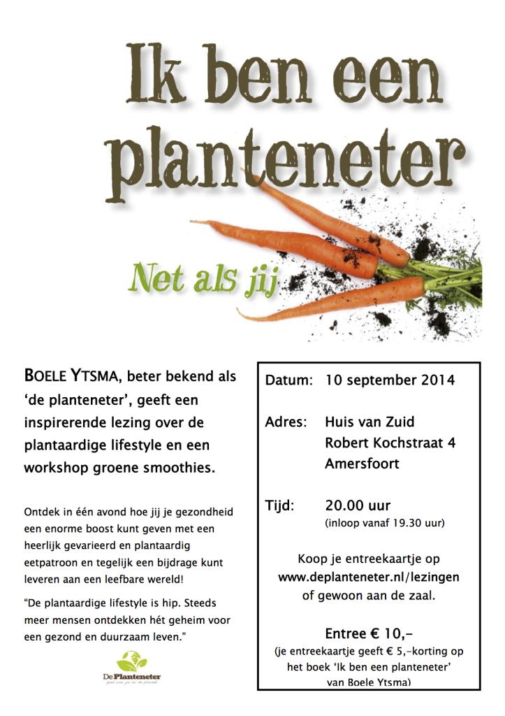 Flyer lezing Amersfoort 10-9-14